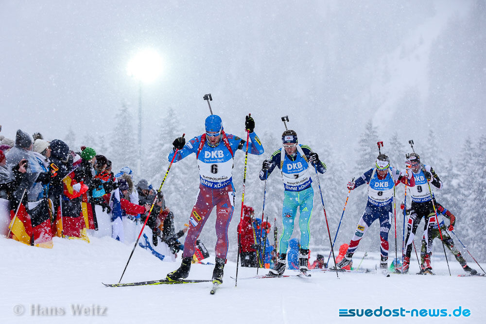 Verfolgung Biathlon