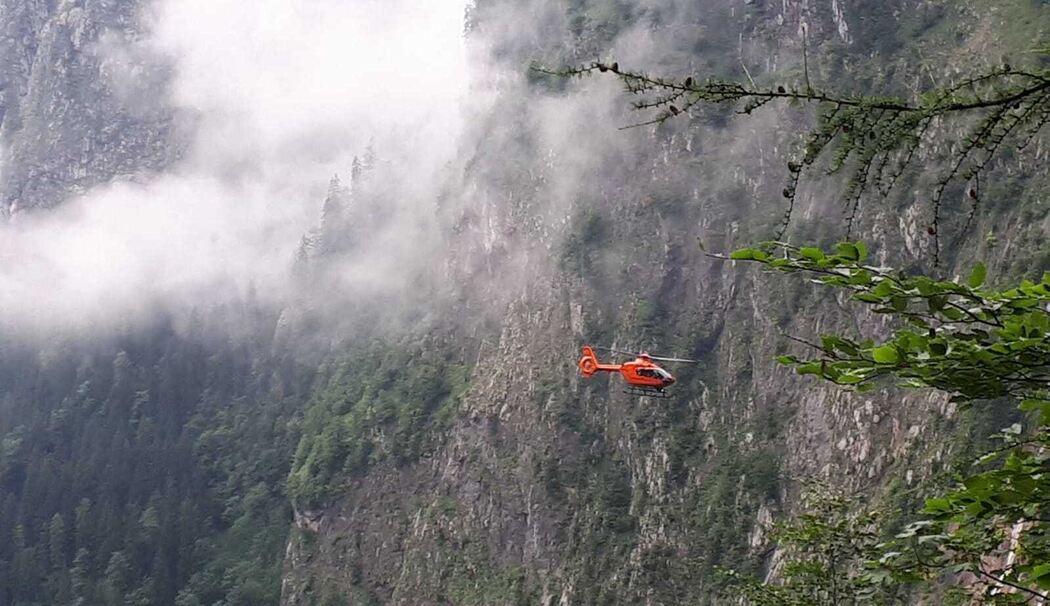 Bergunfall Berchtesgaden Gestern