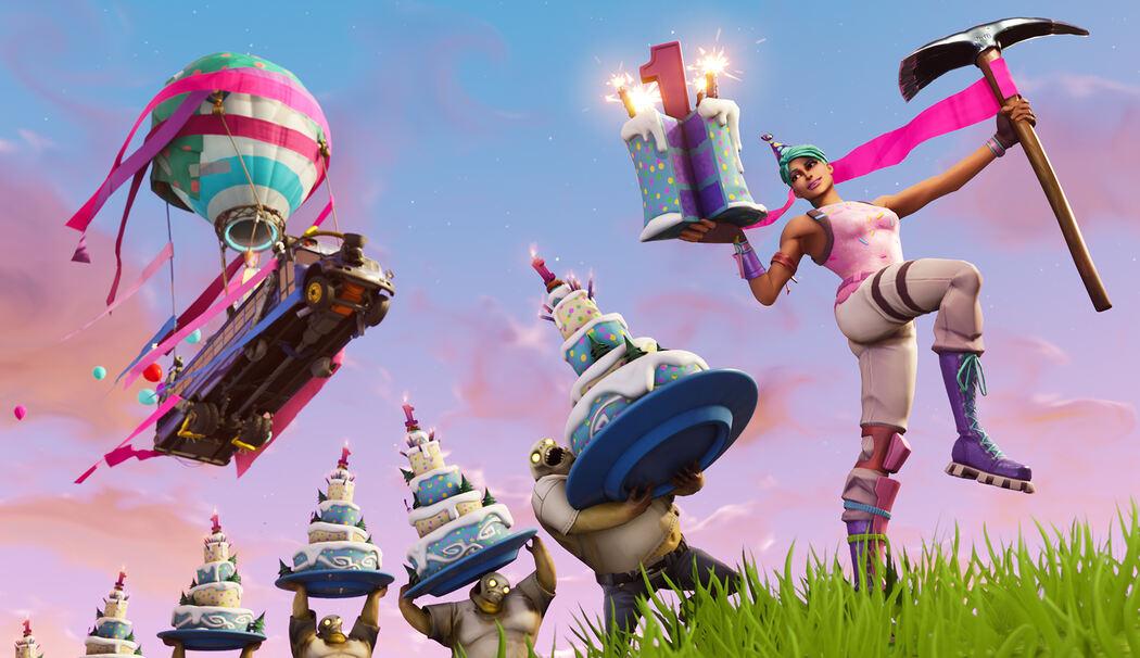 Fortnite Gratis Items Geburtstags Event In Season 5 Update 51