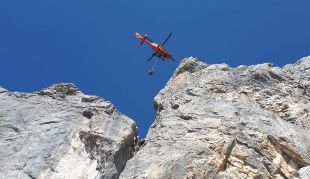 Klettersteigset Watzmann : Brk teilt gaffer vorwürfe zur totenbergung am watzmann nicht