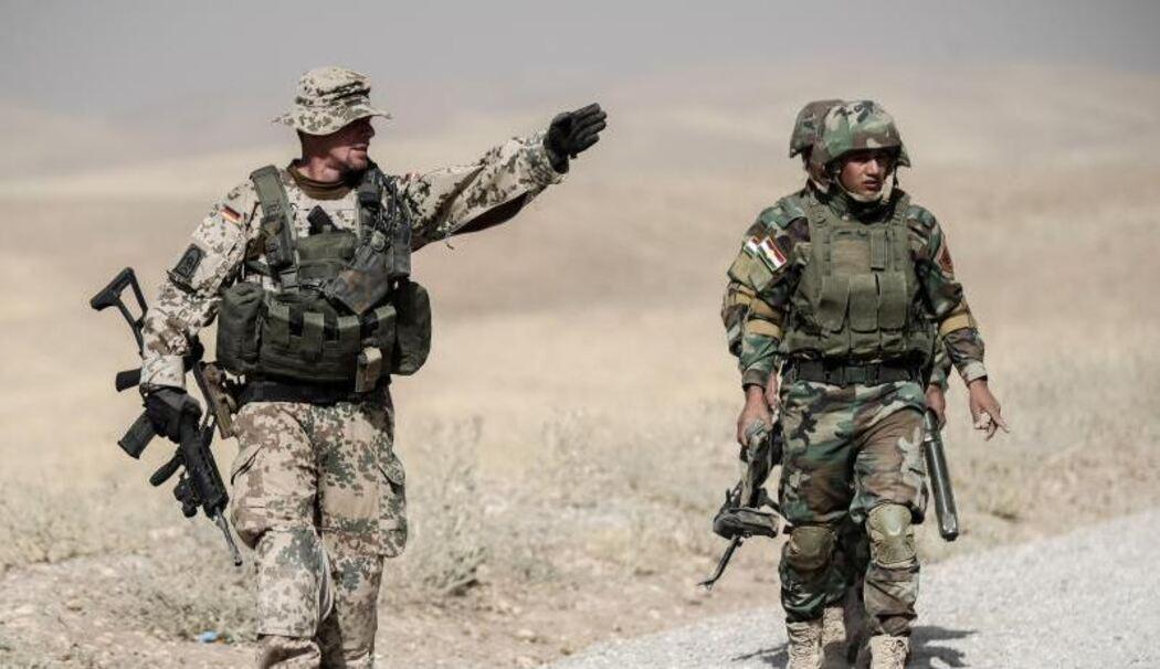 competitive price 77787 5a2d9 Spannungen am Golf: Bundeswehr setzt Ausbildung im Irak aus