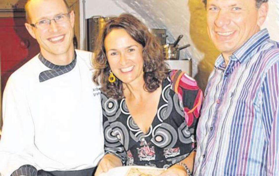 Berchtesgaden   Im Restaurant »Esszimmer« Von Andreas Striemitzer Im Nonntal  Fand Eine Lesung Von Lisa Graf Riemann Und Ottmar Neuburger Statt.